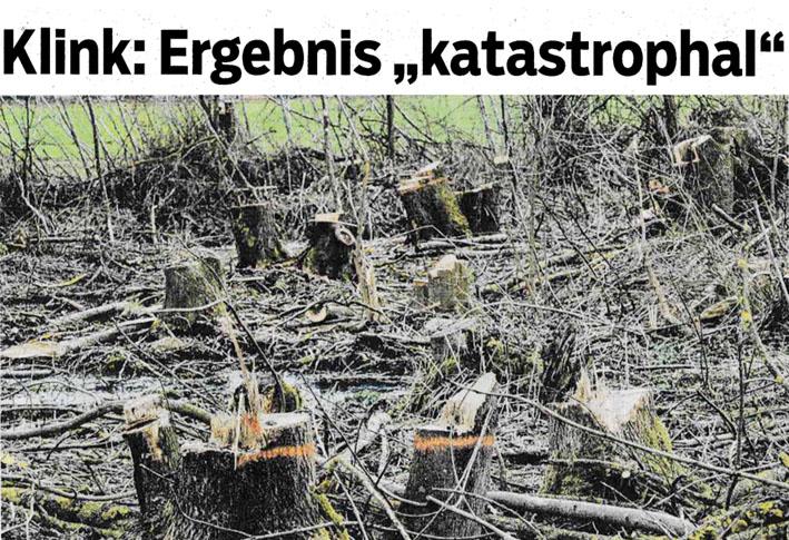 Bericht Haller Tagblatt vom 27. März 2021: Ergebnis katastrophal
